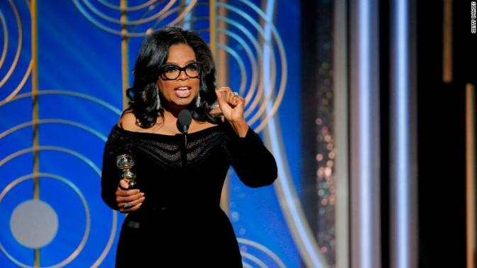 Oprah 'actively thinking' about 2020