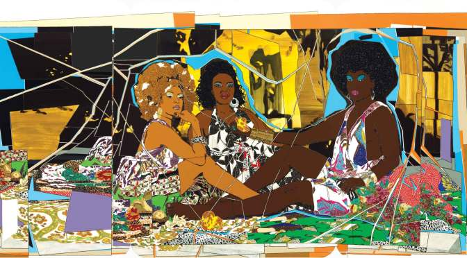 How Mickalene Thomas Is Ushering in a New Wave of Contemporary Art