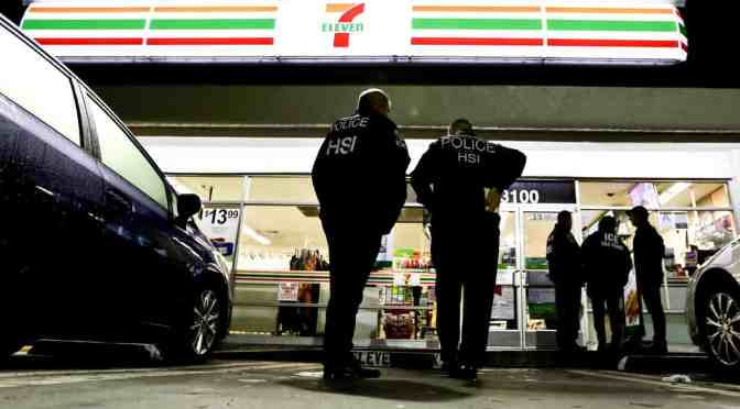 US immigration agents target 7-Eleven stores in pre-dawn raids