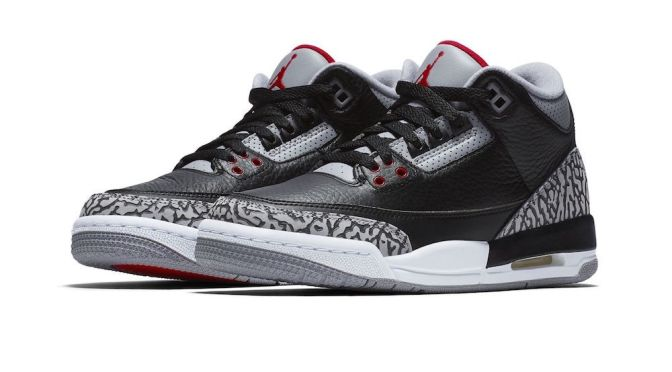 AIR JORDAN 3 'CEMENT' IS BACK AFTER 30 YEARS