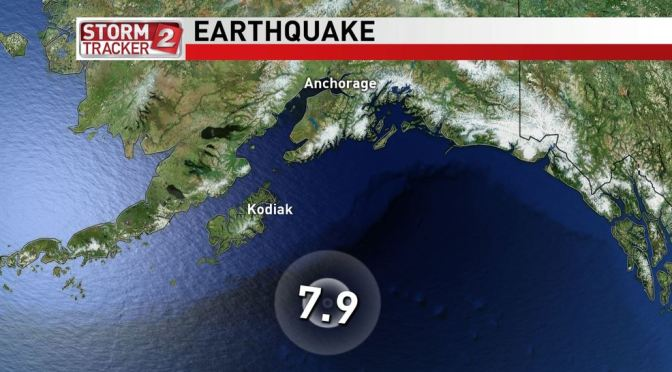 Alaska's giant earthquake didn't have the moves to cause a large tsunami
