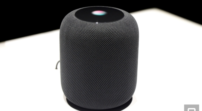 A closer look at Apple's new HomePod