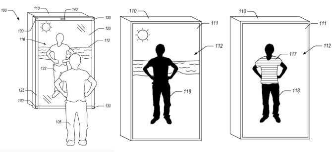 Amazon patent describes mirror for trying on virtual clothes