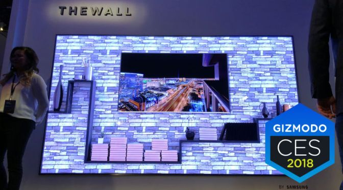 Samsung's New TV Is Just a Giant Wall