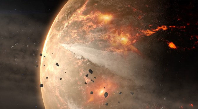 3.5 BILLION-YEAR-OLD FOSSILS CHALLENGE IDEAS ABOUT EARTH'S START