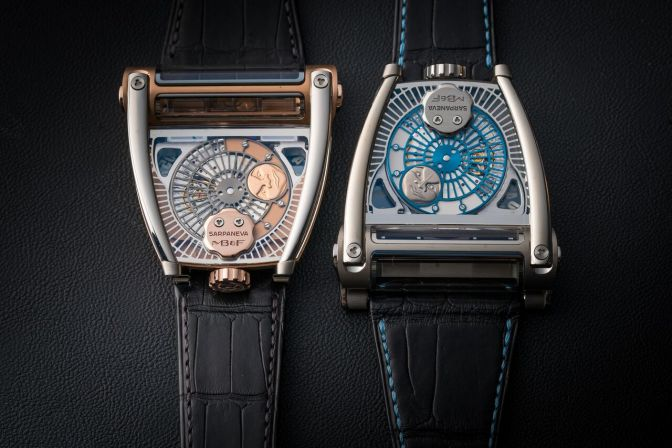 MB&F And Sarpaneva Dream Up The MoonMachine 2