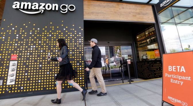 Amazon's First Automated Brick-and-Mortar Store Opens to the Public on Monday