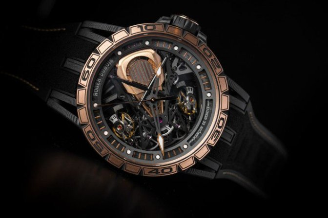 Roger Dubuis Introduces Fast New Versions In Partnership with Lamborghini & Pirelli