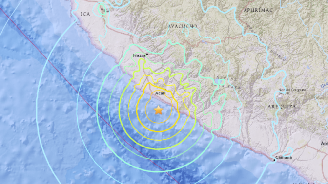 Magnitude 7.1 Earthquake Strikes Peru