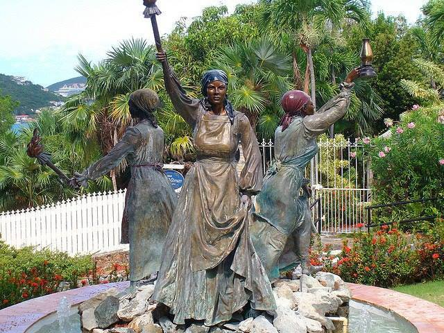 The Fire Burning Queens of the Virgin Islands
