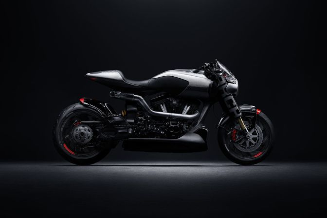 THE LATEST CRUISER FROM KEANU REEVES' ARCH MOTORCYCLES IS THE SLEEKEST YET