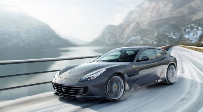 THIS 208-MPH, 4-WHEEL DRIVE HATCHBACK IS THE WONDERFULLY WEIRD 'FAMILY FERRARI'
