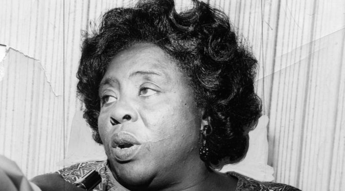 Forced Sterilization Spurred Fannie Lou Hamer's Civil Rights Activism