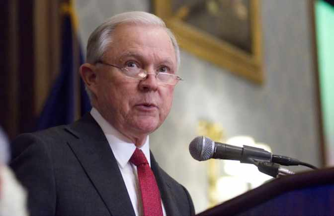 Jeff Sessions Doesn't Want the 'Anglo-American Heritage of Law Enforcement' to Go Away