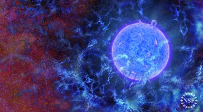 Scientists Discover Long-Sought Evidence of First Stars Forming