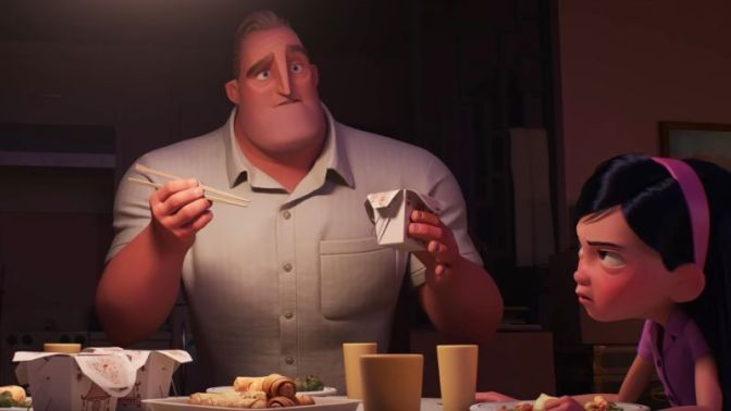 Our Best Look Yet at Incredibles 2 Has Lots of Superhero Parenting