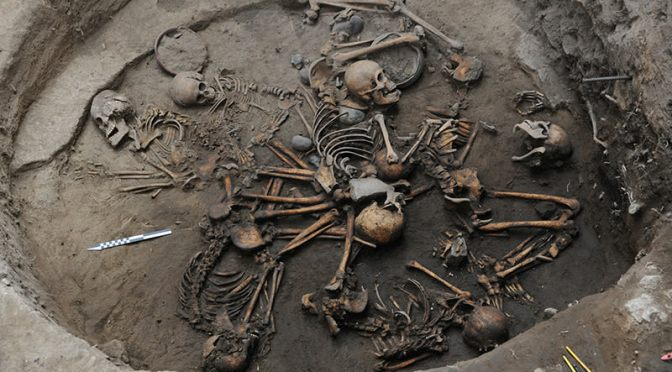 Ancient Grave With Skeletons Arranged in Bizarre Spiral Formation Discovered in Mexico