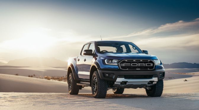 FORD JUST UNLEASHED THE RANGER RAPTOR, A DIESEL-POWERED, OFF-ROADING BEAST