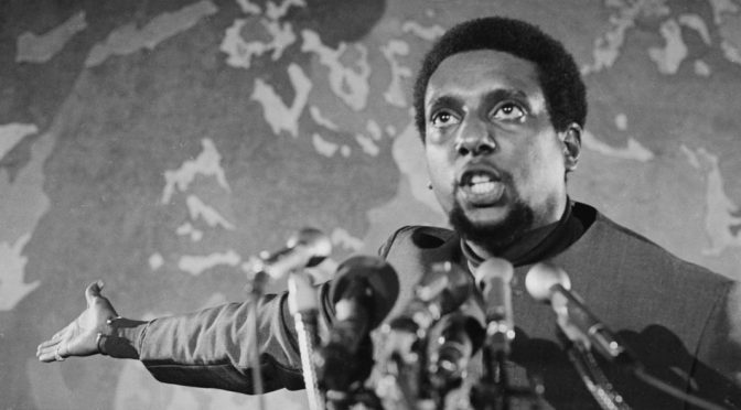 'Ready for the Revolution' Introducing Lionhearted Activist Stokely Carmichael