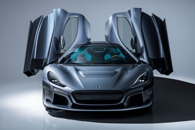 THIS 1,914-HP ELECTRIC HYPERCAR FROM RIMAC GOES FROM 0-60 IN AN UNHOLY 1.85 SECONDS