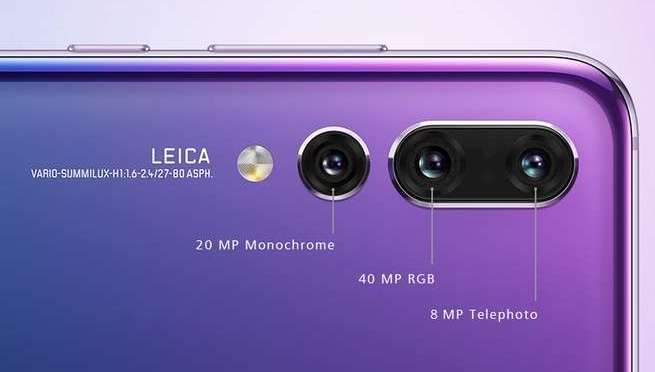 Huawei's P20 Pro smartphone has three rear-facing cameras—here's what each one does