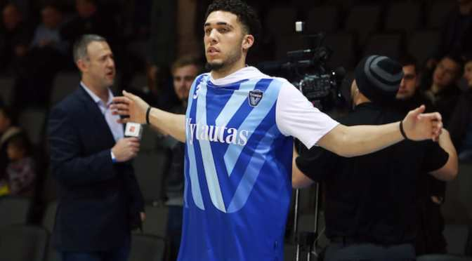 LiAngelo Ball Dropped 72 Points on Day He Declared for Draft