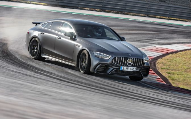 THE ALL-NEW MERCEDES-AMG GT IS A RIP-ROARING, 195-MPH 4-DOOR COUPE