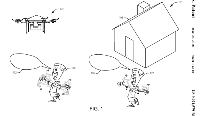 Amazon Patent Points to Future in Which Humanity Is Reduced to Screaming at Drones