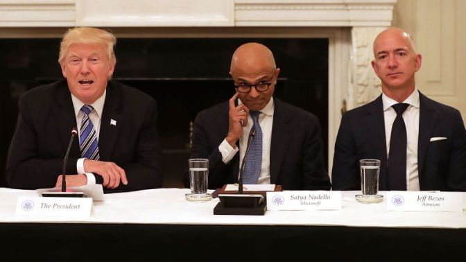 Amazon Lost $53 Billion in One Day Because Trump Has Opinions