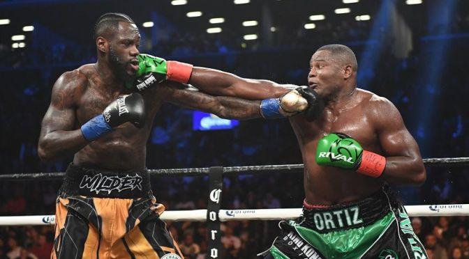 Watch Heavyweight Champ Deontay Wilder Destroy Luis Ortiz with a Thrilling KO