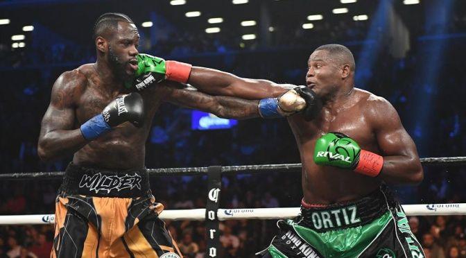 Watch Heavyweight Champ Deontay Wilder Destroy Luis Ortiz with a Thrilling KO