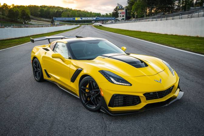 THE 212-MPH, 755-HP CORVETTE ZR1 IS A STREET-LEGAL, TRACK-READY MONSTER