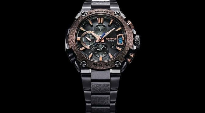 THIS RUGGED G-SHOCK LUXURY WATCH IS INSPIRED BY SAMURAI ARMOR