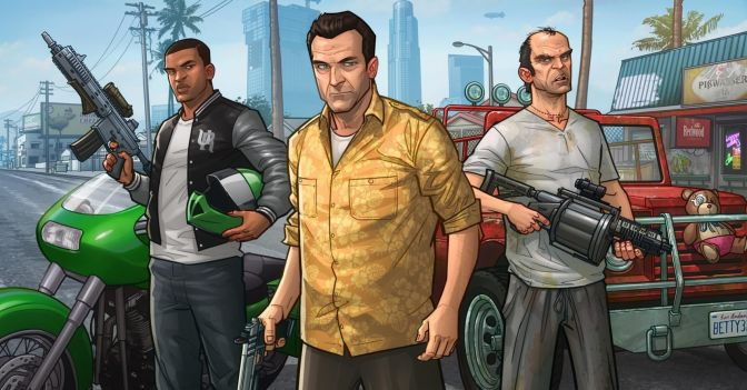 'GRAND THEFT AUTO V' HAS MADE MORE MONEY THAN ANY MOVIE OR VIDEO GAME EVER