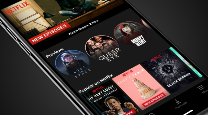 Netflix Introduces Vertical Video Previews on Mobile Devices