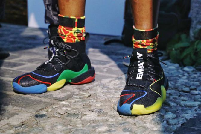 Pharrell Debuts Colorful Adidas Crazy BYW X in China