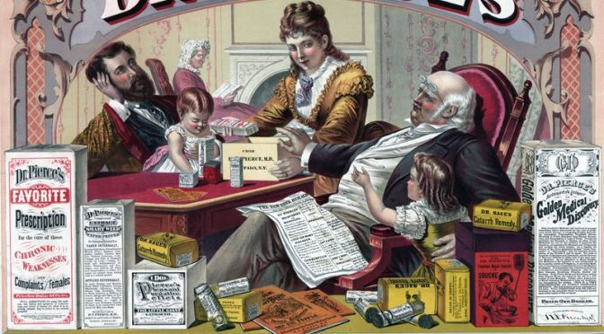 How Advertising Shaped the First Opioid Epidemic