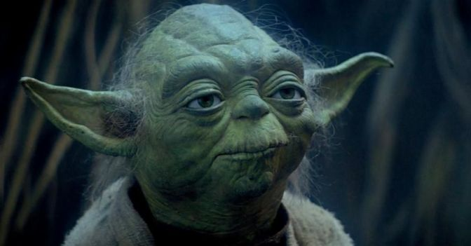 RETURNING TO THE 'STAR WARS' UNIVERSE, YODA IS