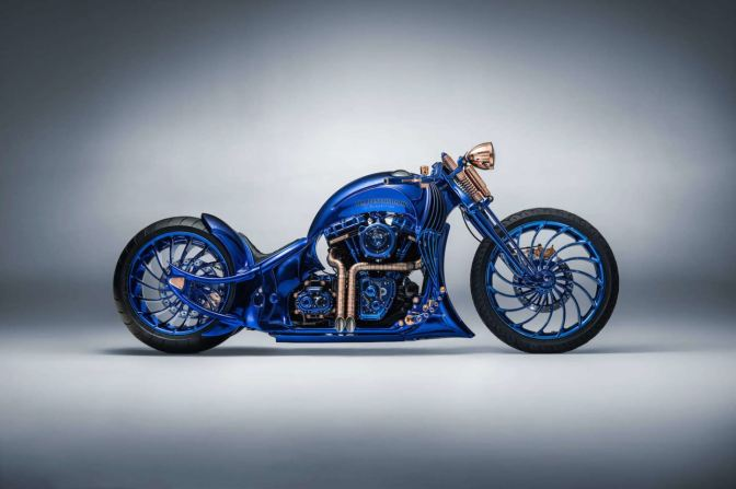 THIS $1.79 MILLION HARLEY-DAVIDSON IS THE WORLD'S MOST EXPENSIVE MOTORCYCLE