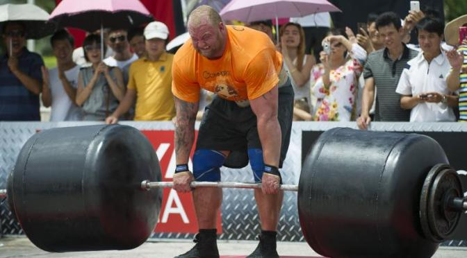 'The Mountain' Hafthor Bjornsson Crowned 2018 World's Strongest Man