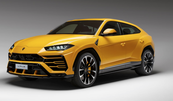 Lamborghini Launches World's Fastest Sport Utility Vehicle: The Urus