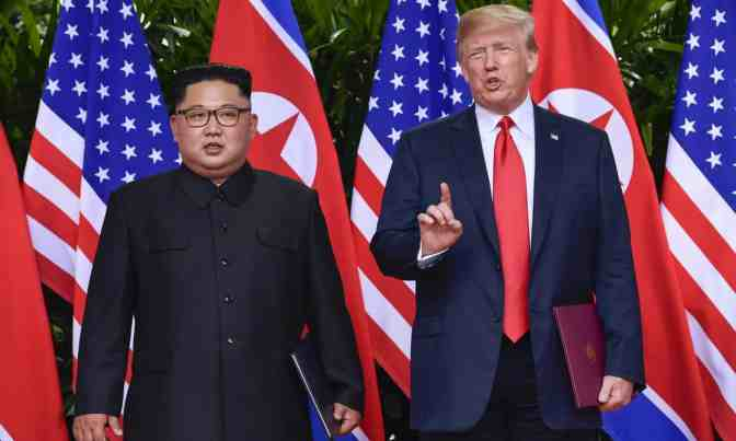 Trump flips on North Korea, declaring country still an 'extraordinary threat'