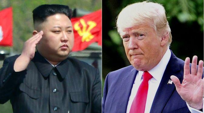 Trump and Kim begin historic summit