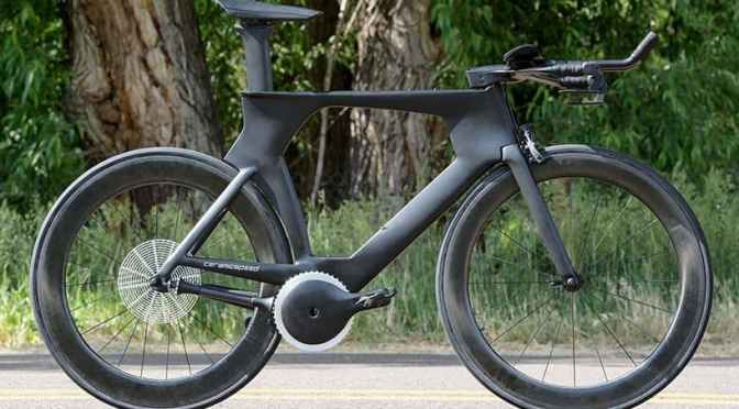 THIS REVOLUTIONARY CHAINLESS CONCEPT COULD BE THE WORLD'S MOST EFFICIENT BIKE