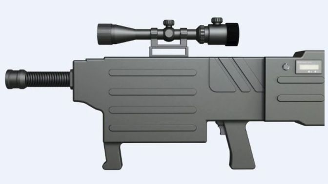 China Claims to Have a Real-Deal Laser Gun That Inflicts 'Instant Carbonization' of Human Skin