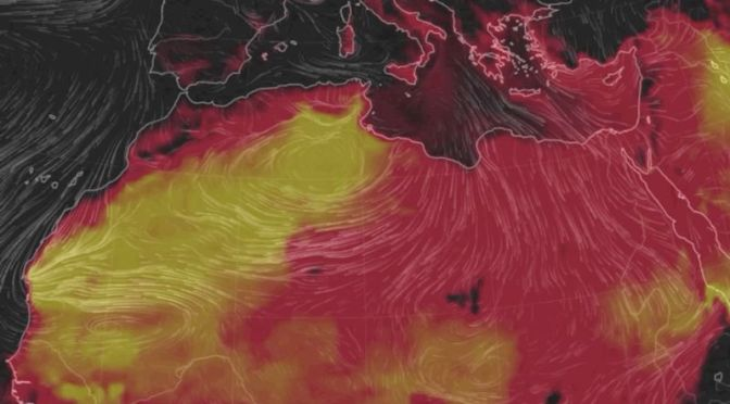 It Was Absurdly Hot in North Africa Yesterday