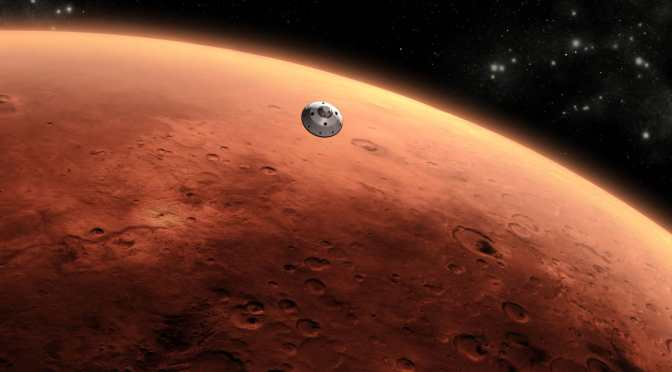 THIS IS WHAT LIFE ON MARS COULD LOOK LIKE, ACCORDING TO NASA