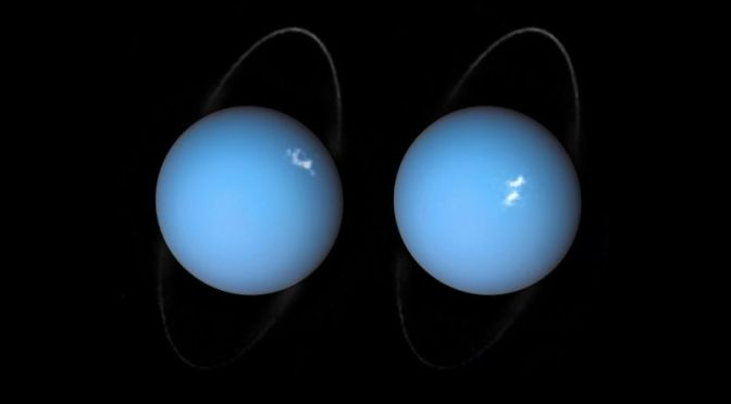 Did Something Massive Smash Into Uranus?