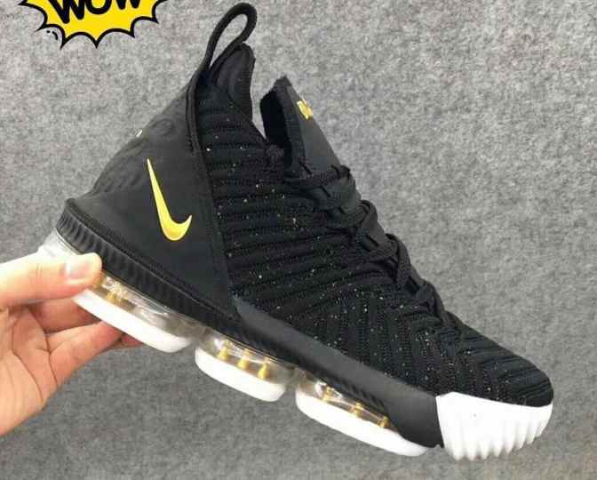 First Look at the Nike LeBron 16