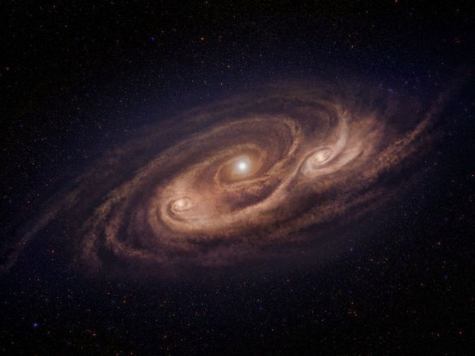 Monster Galaxy Churns Out 1,000 Times As Many Stars As Our Own